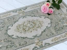 tappeto blanc mariclo tappeto verde grigio serie doria blanc maricl祺 misura 65 x 110