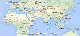 Bishkek Map China Is Moving Mountains For The New Silk Road Literally