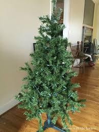 painted flocked christmas tree hometalk