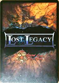 lost legacy legend of the five rings l5r legend of the five