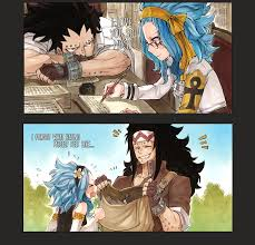 a tale of love u2013 gajeel and levy daily anime art
