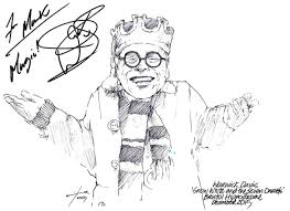 drawing warwick davis in snow white and the seven dwarfs