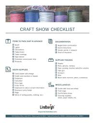 craft show advice for the first time seller