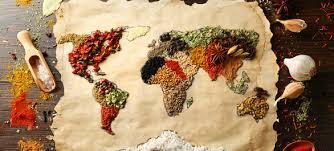 les cuisines du monde a table
