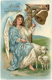 vintage thanksgiving postcards beautiful victorian angel easter postcard victorian angels