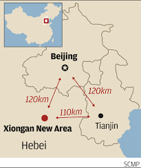 Tianjin China Map Why Xi Jinping Put His New City Dream In Old Hands South China