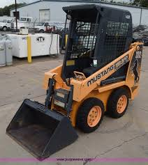 mustang bobcat construction equipment auction colorado auctioneers association