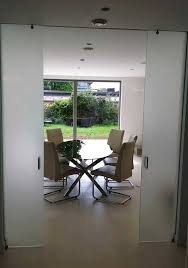 Interior Glass Sliding Doors Sliding Frameless Internal Glass Doors Made To Size And Delivered