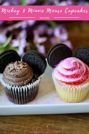 mickey mouse cupcakes mickey and minnie mouse cupcakes disneyjuniorfriyay annmarie