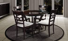 glass table top mississauga adele tdgl 100 round glass top table furniture mattress store