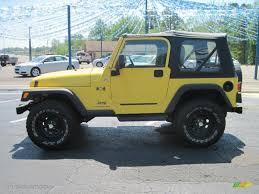 2006 solar yellow jeep wrangler x 4x4 28802758 gtcarlot com