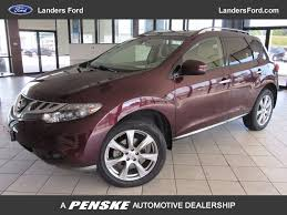2014 used nissan murano awd 4dr le at landers chevrolet serving