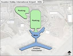 map houston airports houston hobby hou airport terminal map