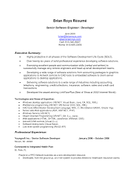 Best Resume Executive Summary by Dispatcher Resume Resume For Your Job Application