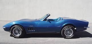 1969 convertible corvette car 1969 convertible corvette stingray in blue car