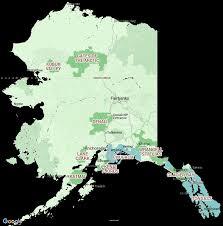 Valdez Alaska Map by Alaska National Parks Tours National Park Vacations