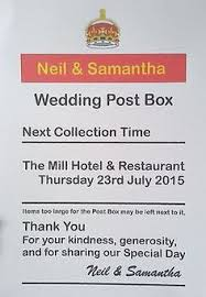 printable wedding card box sign personalised wedding post box post box wedding and box