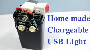 rechargeable light for home how to make rechargeable usb led emergency light led flash light