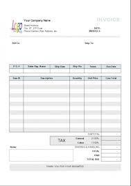 invoice template no vat design invoice template