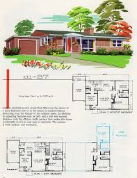 1950s Ranch House Plans The World U0027s Best Photos Of Garlinghouse Flickr Hive Mind