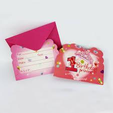 Online Birthday Invitation Card Online Buy Wholesale 1st Birthday Invitations From China 1st
