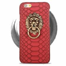metal lion ring holder images 3d lion head metal ring holder stand back cover case for iphone 5 jpg