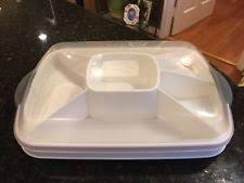 chillzanne products pered chef chillzanne rectangle vegetables fruit divided tray