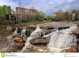 South Carolina waterfalls images Greenville sc reedy river waterfalls spring stock photo image jpg
