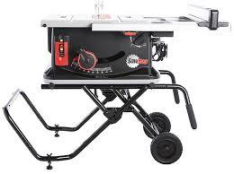 10 In Table Saw Sawstop Jss Mca Vs Skilsaw Spt70wt 01 Vs Kreg Kms7102 Vs Craftsman