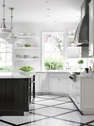 black and white kitchen floor images black and white pattern kitchen floor transitional
