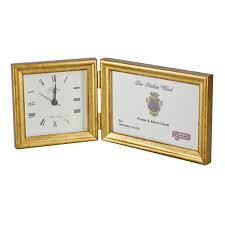 Desk Picture Frame Wall And Desk Clocks Frame It Waban Gallery