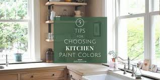how to choose a color to paint kitchen cabinets 5 tips for choosing kitchen paint colors dchristjan