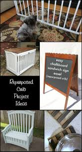 72 best the best repurposed crib ideas images on pinterest old