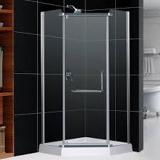 Buy Shower Doors Dreamline Unidoor Min 34 To Max 35 Hinged Shower Door Brushed Plus