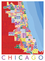 chicago map chicago neighborhood type map i lost my
