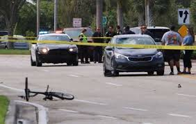 police investigate car vs bicycle crash in cape coral fox 4 now