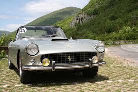 Ferrari California 1960 - ferrari gt 250 spider 1960 car hire amalfi coast car rental
