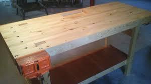Woodworking Bench Top Surface by Build A 100 2x4 Workbench With This Simple Instructable
