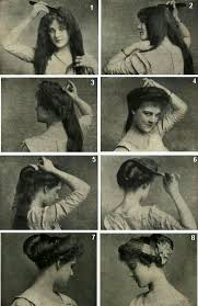 fashioned hair 1900 hairstyles google suche romantic haar pinterest belle