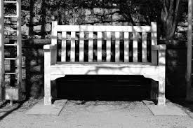 Bench Photography Free Images Black And White Wood Sun House Chair Home Park