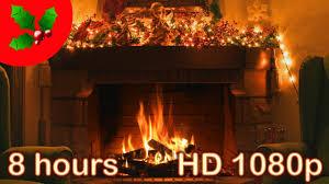 8 hours christmas music christmas fireplace music