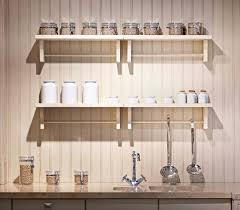 Stainless Steel Canisters Kitchen Cabinets U0026 Drawer Country Style Kitchen With Natural Finishes