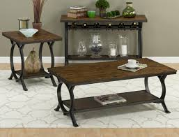 Iron Sofa Table by Harper U0027s Press Sofa Table With Wine Rack By Jofran Wolf And