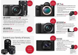 black friday point and shoot camera deals those will be the sony black friday deals starting on november 20