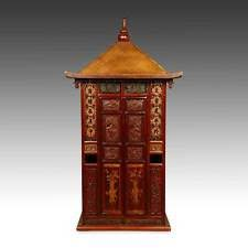 Sedan Chairs Brown Antique Chinese Chairs Ebay