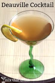 the deauville cocktail is a brandy based drink recipe that dates