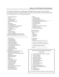 list of special skills for acting resume samples of resumes
