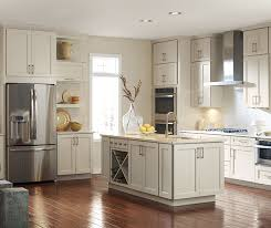 colors for kitchen walls with maple cabinets painted maple cabinets in a transitional kitchen kemper