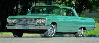 a sixties icon 1963 chevrolet impala ss the many hemmings