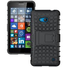 Microsoft Surface Rugged Case Rugged Tough Shockproof Case Microsoft Lumia 640 Black